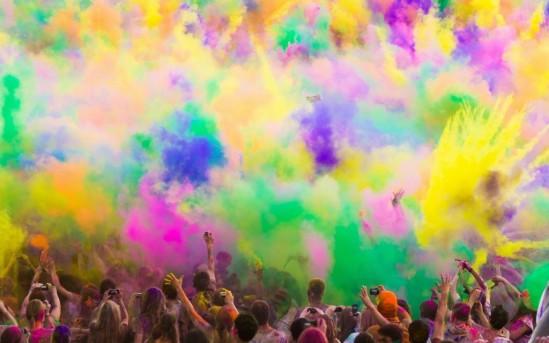 Holi – Das Fest der tausend Farben